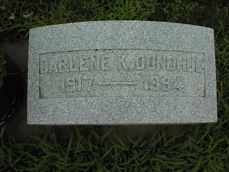 DONOHUE, DARLENE K. - Cedar County, Iowa | DARLENE K. DONOHUE