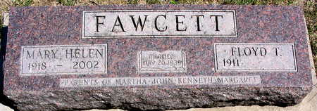 FAWCETT, MARY HELEN - Cedar County, Iowa | MARY HELEN FAWCETT
