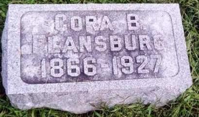 FLANSBURG, CORA - Cedar County, Iowa | CORA FLANSBURG