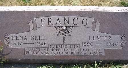 FRANCO, LESTER - Cedar County, Iowa | LESTER FRANCO