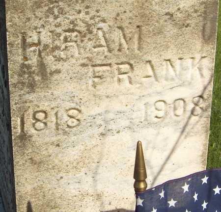 FRANK, HIRAM - Cedar County, Iowa | HIRAM FRANK