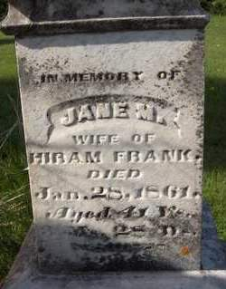 FRANK, JANE M. - Cedar County, Iowa | JANE M. FRANK
