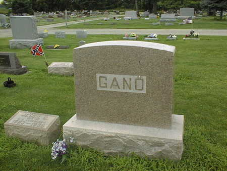 GANO, FAMILY MONUMENT - Cedar County, Iowa | FAMILY MONUMENT GANO