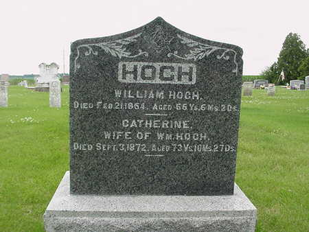 HOCH, WILLIAM - Cedar County, Iowa | WILLIAM HOCH