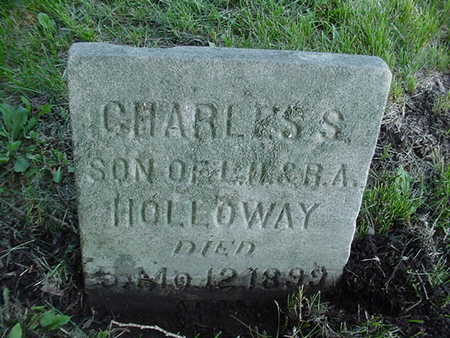 HOLLOWAY, CHARLES S. - Cedar County, Iowa | CHARLES S. HOLLOWAY