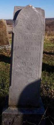 HOWARD, SARAH JANE 'SADIE' - Cedar County, Iowa | SARAH JANE 'SADIE' HOWARD