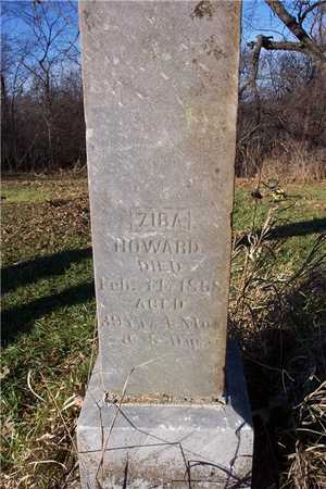 HOWARD, ZIBA - Cedar County, Iowa | ZIBA HOWARD