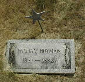 HOYMAN, WILLIAM - Cedar County, Iowa | WILLIAM HOYMAN