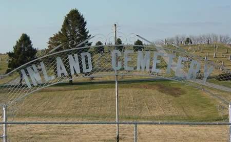 INLAND, CEMETERY - Cedar County, Iowa | CEMETERY INLAND