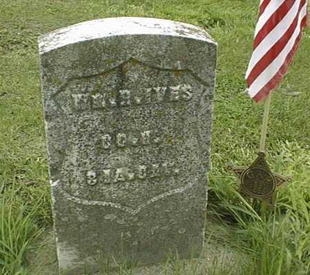 IVES, WILLIAM H. - Cedar County, Iowa | WILLIAM H. IVES