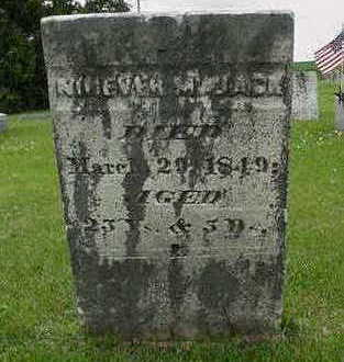 JACK, NINEVEH M. - Cedar County, Iowa   NINEVEH M. JACK