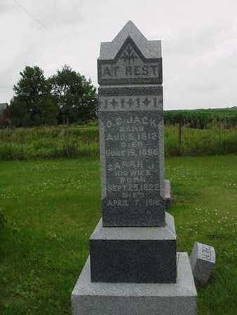 JACK, SARAH J. - Cedar County, Iowa | SARAH J. JACK