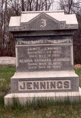 JENNINGS, ALMIRA - Cedar County, Iowa | ALMIRA JENNINGS