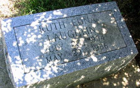 LAUGHLIN, RUTH EDNA - Cedar County, Iowa | RUTH EDNA LAUGHLIN