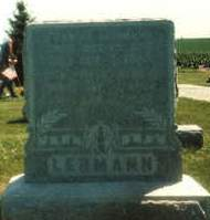 LEHMANN, CHARLOTTE - Cedar County, Iowa | CHARLOTTE LEHMANN
