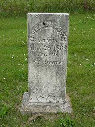 MARKLE, ABRAHAM - Cedar County, Iowa | ABRAHAM MARKLE