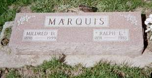 MARQUIS, MILDRED - Cedar County, Iowa | MILDRED MARQUIS