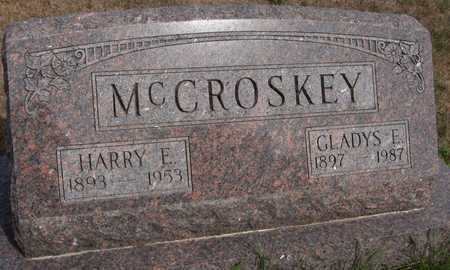 MCCROSKEY, HARRY E. - Cedar County, Iowa | HARRY E. MCCROSKEY