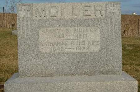 MOLLER, KATHARINE R. - Cedar County, Iowa | KATHARINE R. MOLLER