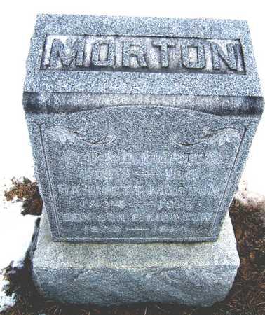 MORTON, EZRA D. - Cedar County, Iowa | EZRA D. MORTON