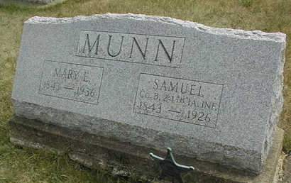 MUNN, MARY E. - Cedar County, Iowa | MARY E. MUNN