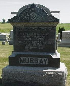 MURRAY, ALEXANDER - Cedar County, Iowa | ALEXANDER MURRAY