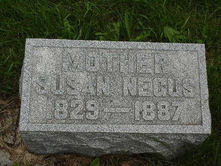 NEGUS, SUSAN - Cedar County, Iowa | SUSAN NEGUS