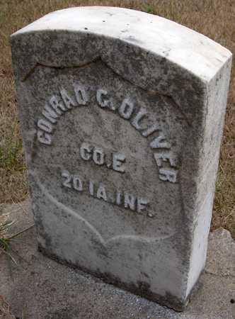 OLIVER, CONRAD G. - Cedar County, Iowa | CONRAD G. OLIVER