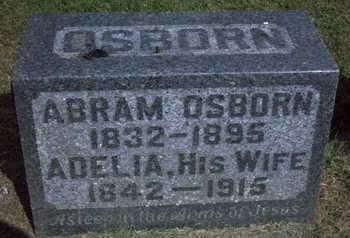 OSBORN, ABRAM - Cedar County, Iowa | ABRAM OSBORN