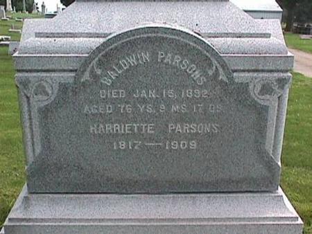 PARSONS, BALDWIN - Cedar County, Iowa | BALDWIN PARSONS