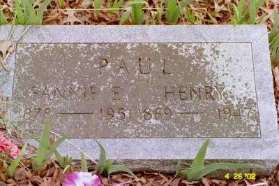 PAUL, HENRY - Cedar County, Iowa | HENRY PAUL