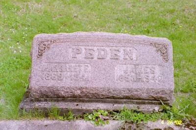 PEDEN, MARGARET - Cedar County, Iowa | MARGARET PEDEN