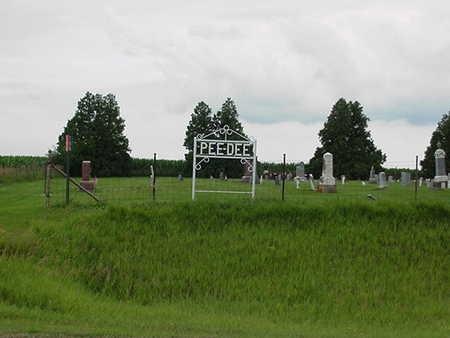 PEE DEE, CEMETERY - Cedar County, Iowa | CEMETERY PEE DEE