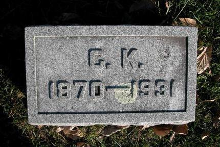 PIERCE, CHARLES KLINE - Cedar County, Iowa | CHARLES KLINE PIERCE