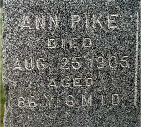 PIKE, ANN - Cedar County, Iowa | ANN PIKE