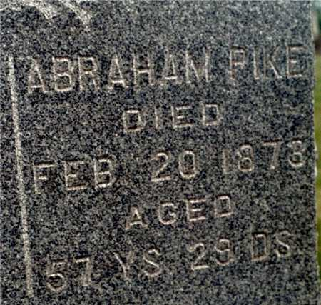PIKE, ABRAHAM - Cedar County, Iowa | ABRAHAM PIKE