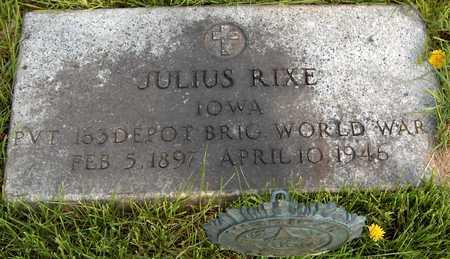 RIXE, JULIUS - Cedar County, Iowa | JULIUS RIXE