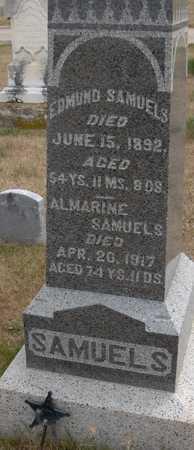SAMUELS, ALMARINE - Cedar County, Iowa | ALMARINE SAMUELS