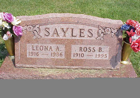 SAYLES, ROSS B. - Cedar County, Iowa | ROSS B. SAYLES