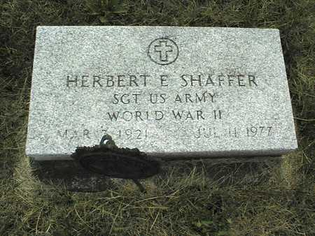 SHAFFER, HERBERT - Cedar County, Iowa | HERBERT SHAFFER