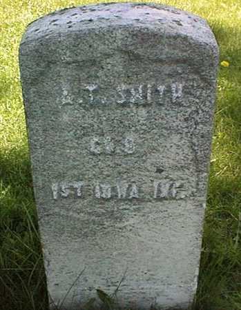SMITH, ALCINES T. - Cedar County, Iowa | ALCINES T. SMITH