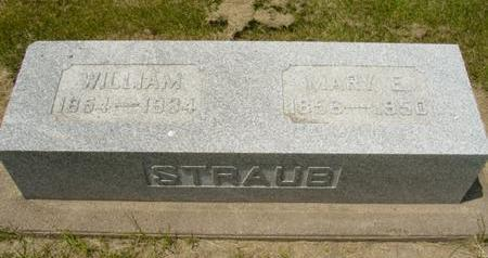 STRAUB, WILLIAM - Cedar County, Iowa | WILLIAM STRAUB