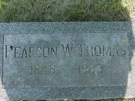 THOMAS, PEARSON W. - Cedar County, Iowa | PEARSON W. THOMAS