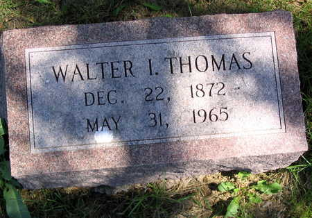 THOMAS, WALTER I. - Cedar County, Iowa | WALTER I. THOMAS
