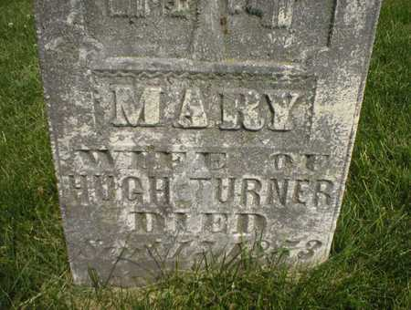 TURNER, MARY - Cedar County, Iowa | MARY TURNER