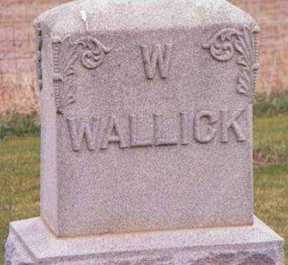 WALLICK, W. - Cedar County, Iowa | W. WALLICK