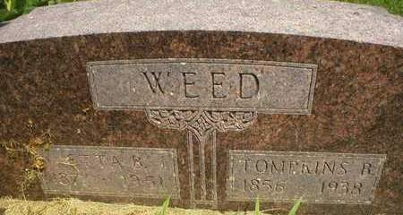 TURNER WEED, ETTA BELLE - Cedar County, Iowa | ETTA BELLE TURNER WEED