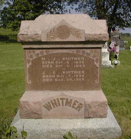 WHITMER, MARY JANE - Cedar County, Iowa | MARY JANE WHITMER