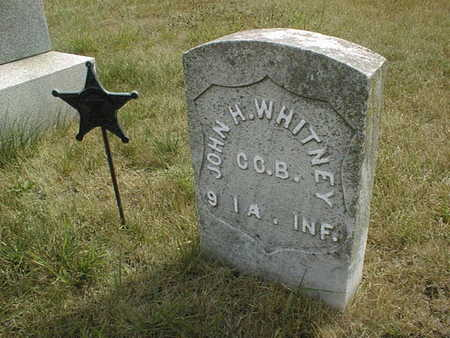 WHITNEY, JOHN H. - Cedar County, Iowa | JOHN H. WHITNEY