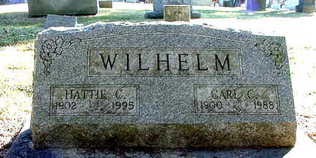 WILHELM, HATTIE CERENA - Cedar County, Iowa | HATTIE CERENA WILHELM